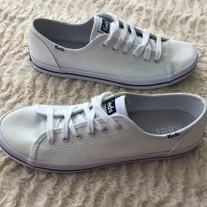 Keds Shoes - Keds White Sneakers, Size 8